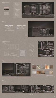 Interior Design Videos, Wood Interior Design, Studio Interior, Cafe Interior, Interior Plants, Gray Interior, Interior Design Presentation, Architecture Presentation Board, Presentation Layout