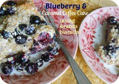 The Better Baker: Blueberry & Caramel Coffee Cake {using Grands biscuits}
