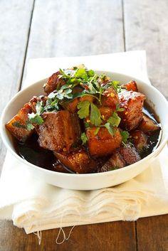 Caramel Pork Belly