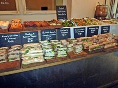 Tapped and Packed Sandwich Selection, Homegirl London