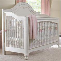 Isabella Built to Grow Gala Convertible Crib by Young America - Jacksonville Furniture Mart - Crib Jacksonville, Gainesville, Palm Coast, Fernandina Beach