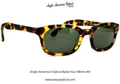 Anglo American Optical Byker Sun 48mm AH 21st, Sunglasses, American, Style, Swag, Sunnies, Shades, Outfits, Eyeglasses