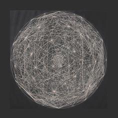 Rachel Garrard - Stardust Etching - Cosmos (2010)