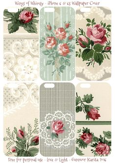 Modern Bright Floral on White with Lime Green Trim-Tween WALLPAPER BORDER