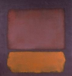 "Mark Rothko ""Without Title"" 1962, Staatsgalerie Stuttgart, Germany"
