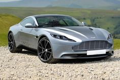 The Aston-Martin DB11 rides on a lightweight bonded aluminum structure and is propelled via a 5.2-liter twin-turbocharged V12 that puts a whopping 660 hp to the pavement via an eight-speed automatic transmission.