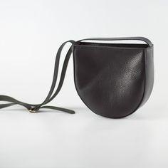 Soft Leather Shoulder Bag #handstitched #interior #leather