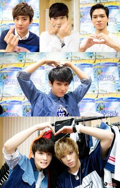 Chunji, Changjo, Cap, LJoe, Ricky and Niel-Teen Top 3rd Official Fan Meeting - Angel Vanance? 2014