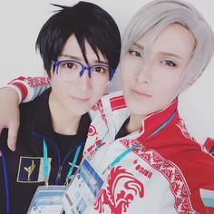 Yuri on ice Yuuri, Victor