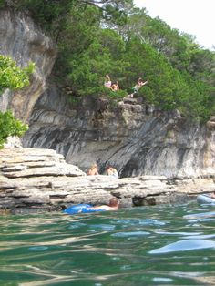 The Limestone Cliffs at Beaver Lake Arkansas... my favorite spring/summer getaway spot, just 2/12 hours from Tulsa in the Ozarks