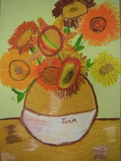 Van Gogh vases