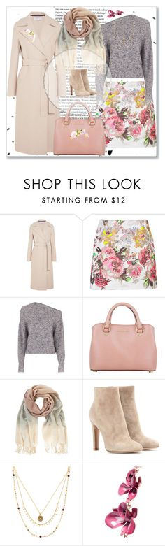 """""""Flower Power"""" by rita257 ❤ liked on Polyvore featuring GET LOST, Harris Wharf London, Valentino, T By Alexander Wang, MICHAEL Michael Kors, Mint Velvet, Gianvito Rossi, Accessorize and Etro"""