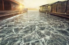 Frozen lake by RonaldKnig Photos Of The Week, Landscape Photography, Travel Photography, Virtual World, Wonderful Places, Mother Nature, Photo S, Places To See, Tourism