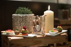 Vegane Vorspeisen Pillar Candles, Vegan Appetizers, Vegans, Candles