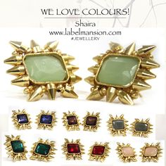 Oh Shaira! We are loving these colours! And you? Check out the new jewellery at www.labelmansion.com #labelmansion #ootd #mondays #earrings #baubles #studs #colours #pastels #spikes #gold #statement #mumbai #delhi #gurgaon #bangalore #pune #ahmedabad #l4l #f4f #100likes #love #jewels #shoponline #india #women #fashion