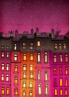 Paris illustration: