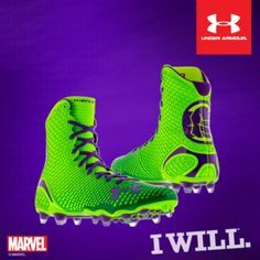 under armour lax highlight all america cleat   Under Armour Reveals Marvel & DC Comics Alter Ego Highlight Cleat 0