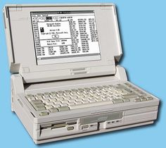 In 1988, Compaq Computer introduces its first laptop PC with VGA graphics – the Compaq SLT/286.