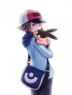 Hilbert and Tepig Calem Pokemon, Pokemon Manga, Pokemon Fan Art, My Pokemon, Pokemon Hilda, Pokemon Images, Pokemon Pictures, Pokemon Game Characters, First Pokemon