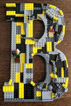 Lego city 2 muraux 1 x 4 x 1 In Hell Bleu//Bleu ciel nouvelle version