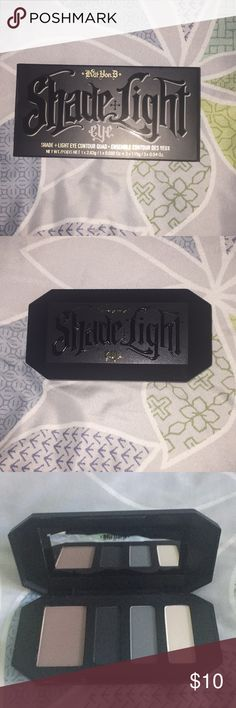 NEVER USED Kay Von D Smoke Show Eye Quad Received two of these as gifts. NEVER USED OR TOUCHED. Kat Von D Makeup Eyeshadow
