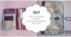 Costura creativa, amigurumis y scrapping Travel Kits, Ideas Para, Little Ones, Sewing Projects, Patches, Diy Crafts, Deco, Cover, San