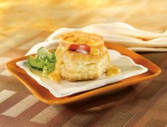Pepperidge Farm® Puff Pastry - Recipe Detail - Ham & Cheddar Cheese Shells