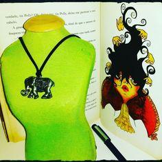 Gargantilha+Elefante+Indiano+-+Alquimia+Criativa+Bijoux
