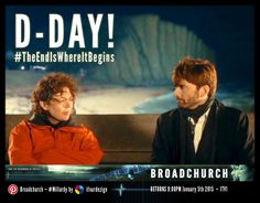 TONIGHT IS THE NIGHT! (UK & EIRE) And we wish the cast and crew ALL the luck in the world with S2 #TheEndIsWhereItBegins #Broadchurch2 — January 5th 2015 #TheCountdown #DSEllieMiller #DIAlecHardy #Millardy
