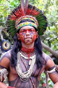 índio pataxó brasileiro