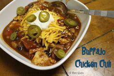 Fantastical Sharing of Recipes...and more!: Buffalo Chicken Chili