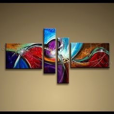 x large abstract art