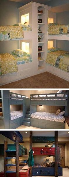 30 Fabulous Corner Bunk Bed ideas...choose your favorite :)