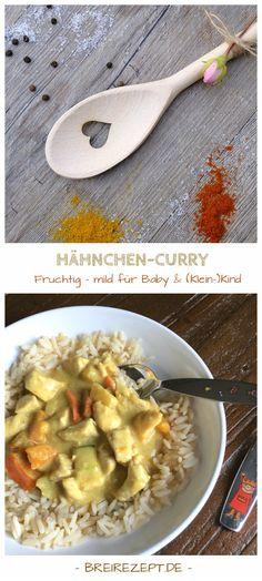 Hähnchen-Curry für Baby und Kleinkind