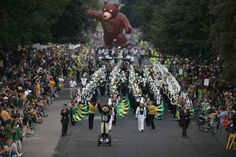 You partook in the most wonderful Baylor tradition, the oldest Homecoming in the nation (according to the Smithsonian)