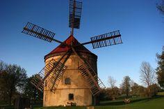 Wind mill Světlík, North Bohemia.