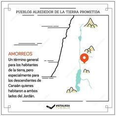 Pueblos alrededor de la tierra prometida: Los amorreos.