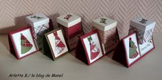 Tuto du marque place de Noël - Le blog de Manel Christmas Squares, Noel Christmas, Christmas Crafts For Kids, Simple Christmas, Christmas Cards, Deco Table Noel, Diy Crafts To Do, Happy New Year Greetings, Theme Noel