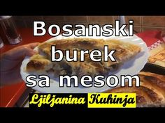 Bosanski burek sa mesom - YouTube Macedonian Food, Cookie Do, Cookies Policy, Cooking Recipes, Make It Yourself, Meat, Youtube, Ground Meat, Essen