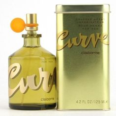 CURVE BY LIZ CLAIBORNE MEN 4.2 OZ 125 ML COLOGNE SPRAY NEW IN CAN #LizClaiborne