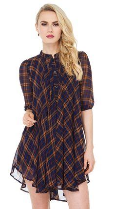 Women Casual Loose Drape A Line Chiffon Shirt - Lalalilo.com Shopping - The Best Deals on Women's Tops