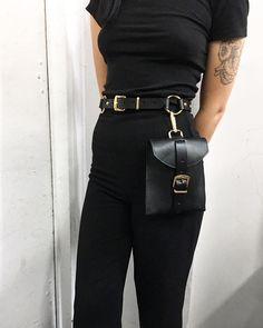 "2,276 Likes, 17 Comments - ZANA BAYNE (@zanabayne) on Instagram: ""The #ZanaBayne CHRIS BELT BAG with gold hardware  Available online, link in bio"""