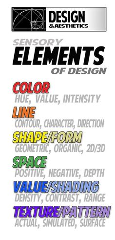 7 principles of art and design | the Elements of Design