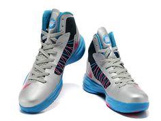 innovative design 422ad 33c40 Nike Lunar Hyperdunk 2012 Metallic Silver Blue Pink,Style code 487639-102,