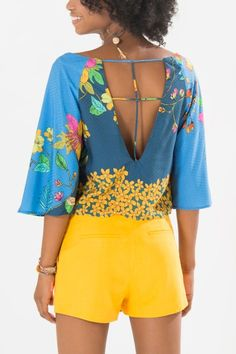 Blusa detalhe costas Serene | Farm