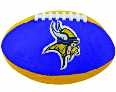 NFL Minnesota Vikings Football Smasher by Champion Treasures. $10.89. High Quality Polyester with Fiber Filling. Full Color Embroidered Logo. Team Colors. Plays Main Segmant of Fight Song, Team Chant, and Team Slogan when Smashed. Champion Treasures NFL Minnesota Vikings Football Smasher. Save 43% Off!