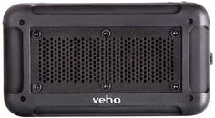Veho VXS001BLK 360 Vecto Wireless Water Resistant Outdoor Speaker with 6000mAh Powerbank Microphone and MP3 player * Click image for more details.