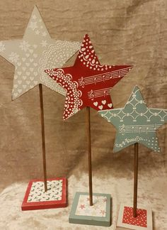 Christmas Crafts To Make, Diy Christmas Decorations Easy, Christmas Sewing, Homemade Christmas, Christmas Art, Christmas Projects, Holiday Crafts, Rustic Christmas, Vintage Christmas