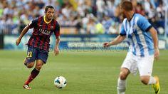 FC Barcelona, Adriano Correia. | Málaga 0-1 FC Barcelona. [25.08.13] FOTO: MIGUEL RUIZ - FCB
