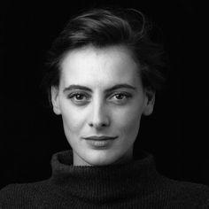Inèz de la fressange (ca. 1990) i like her style and personality